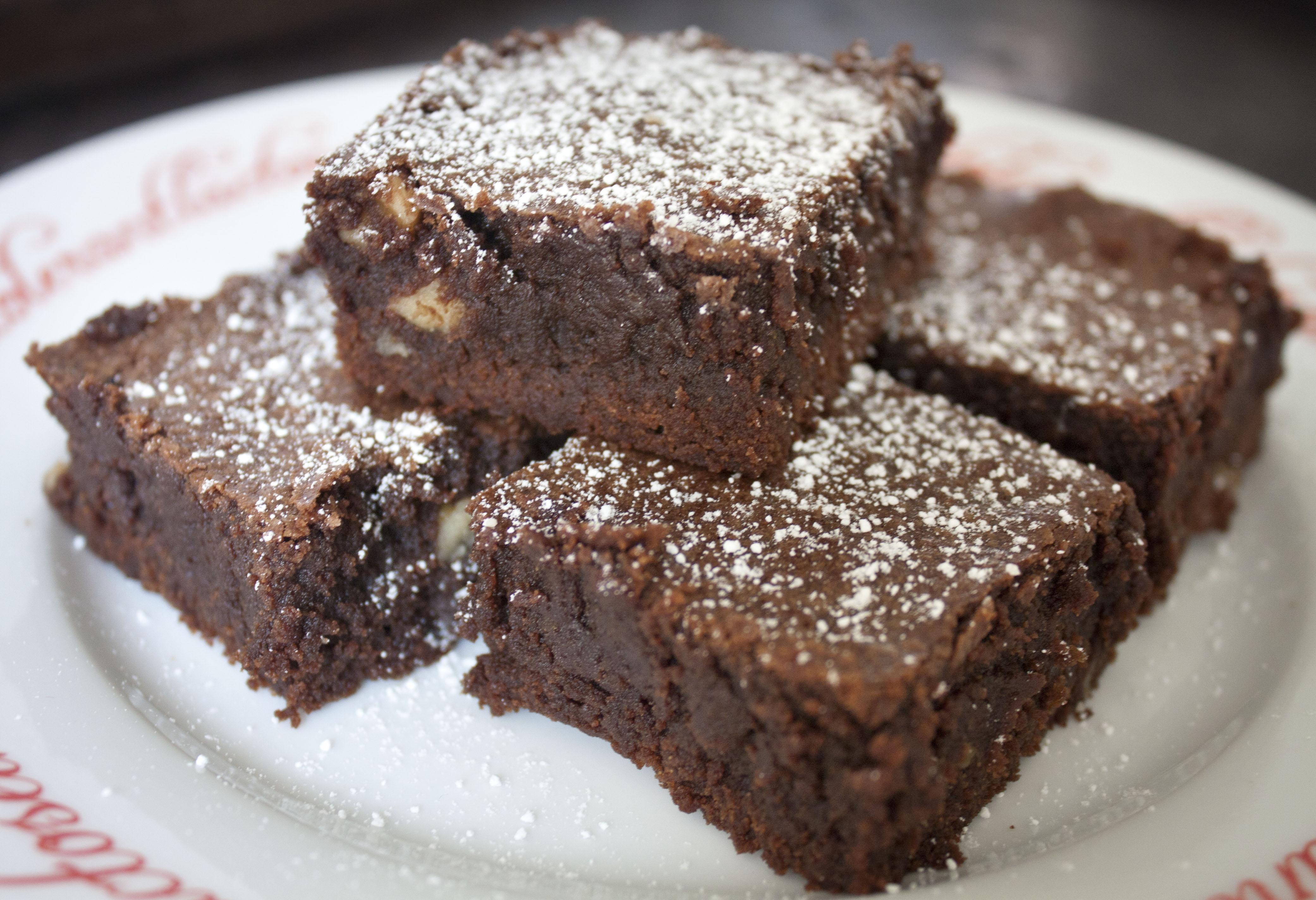 Homemade Brownies Recipe — Dishmaps