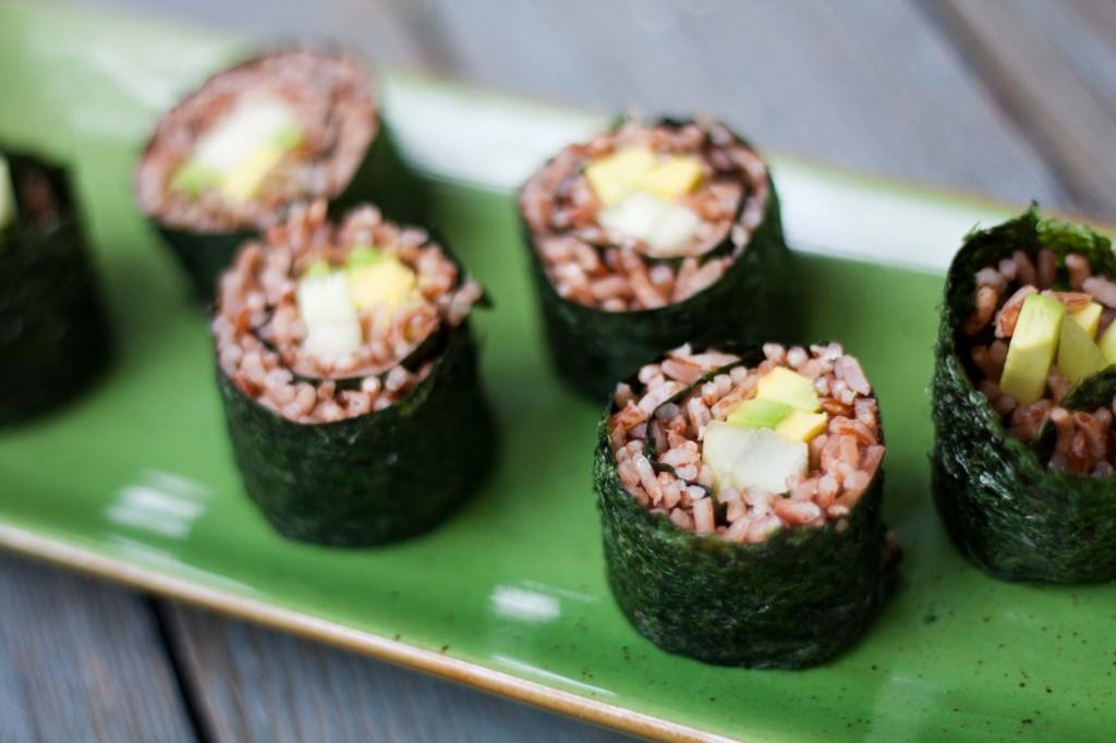 Avocado and Cucumber Maki Rolls | Braised Anatomy
