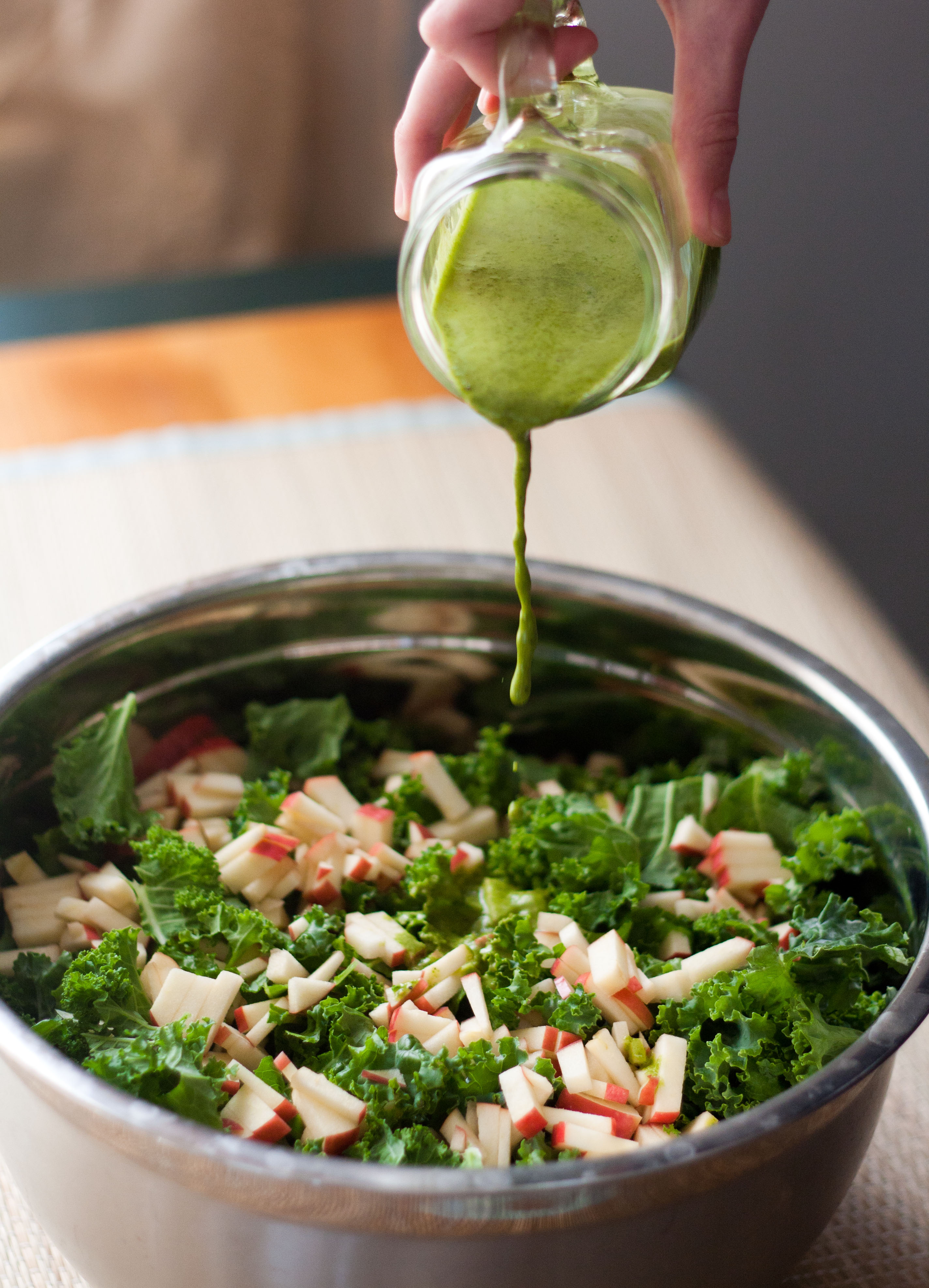 tahini dressing culicurious kale quinoa salad dressing combined kale ...