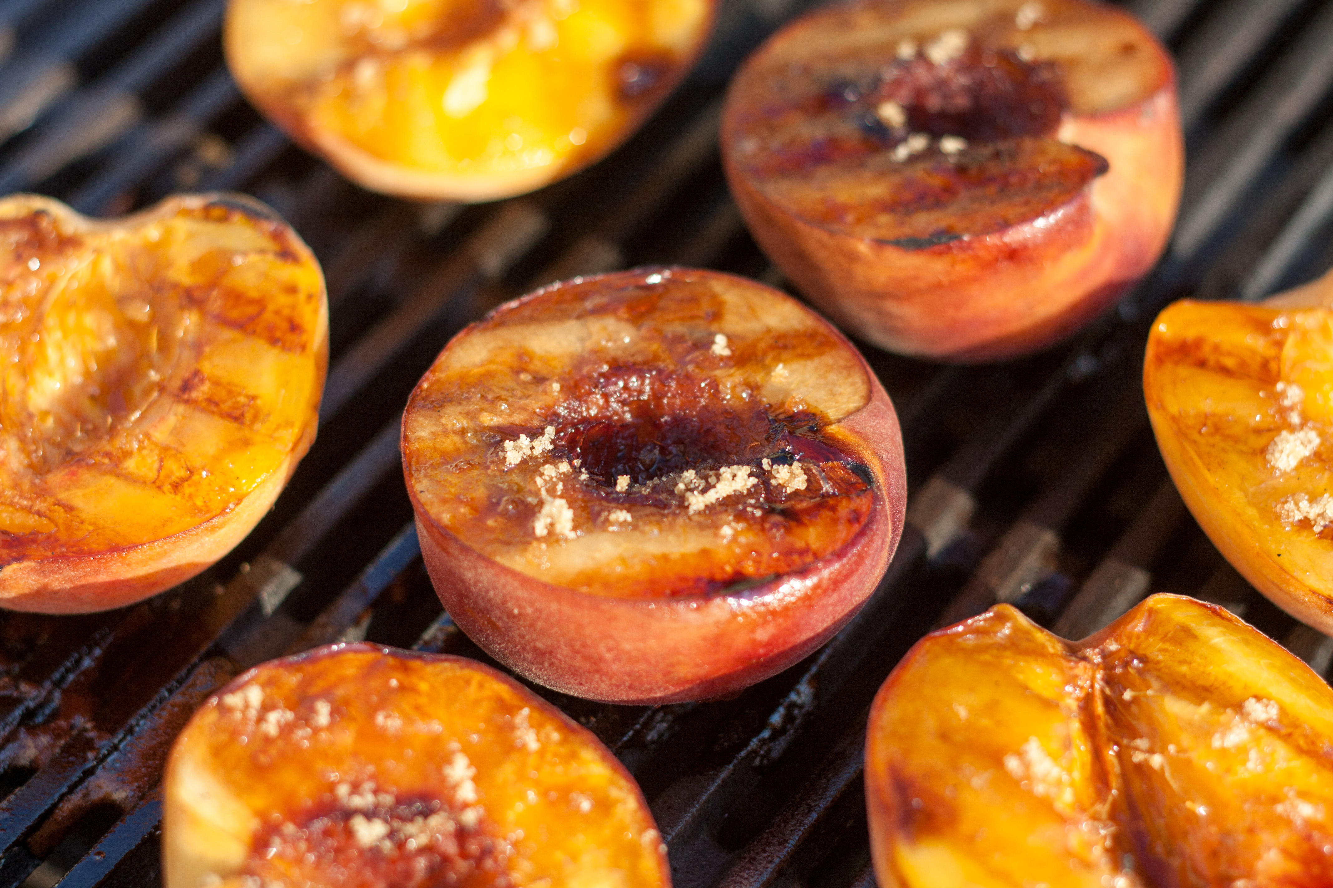 Grilled Peaches by Braised Anatomy